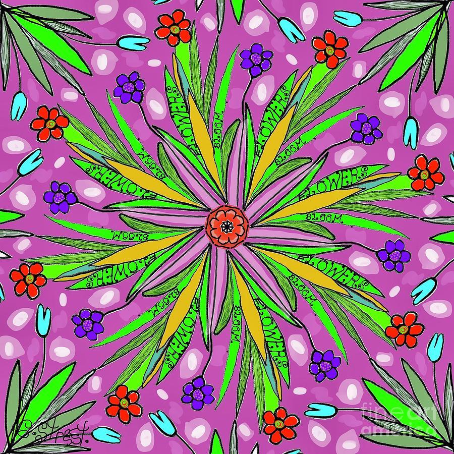 Flowers Bloom Digital Art