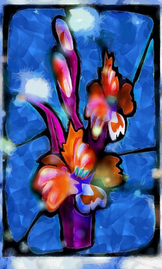 Flowers Immemorable Digital Art