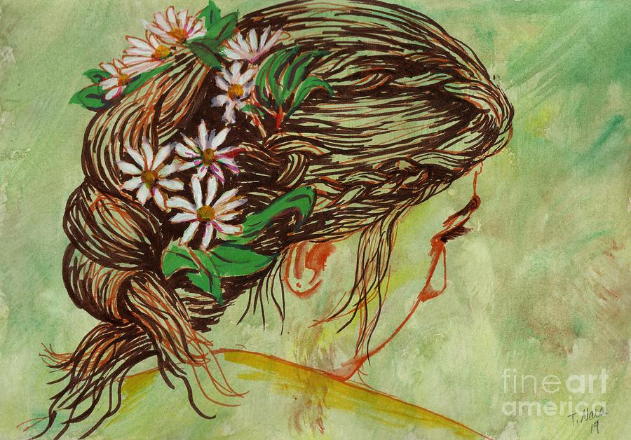 Flowers in Her Hair by Tammy Nara