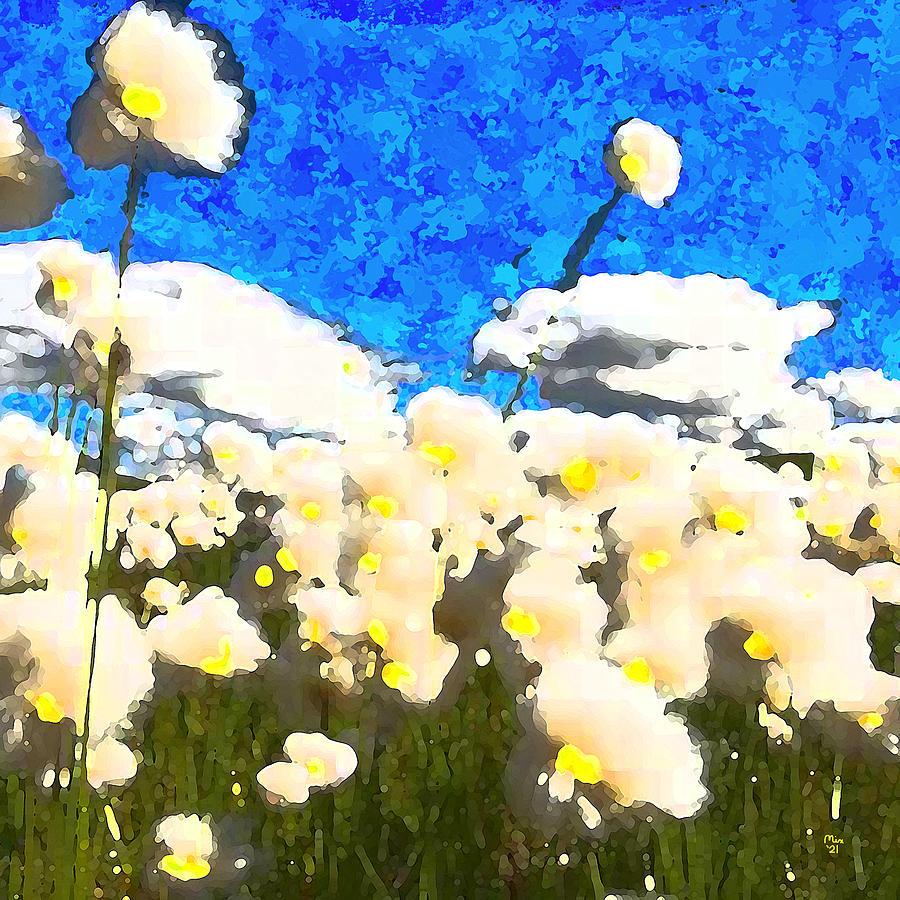 Flowers In The Breeze Digital Art