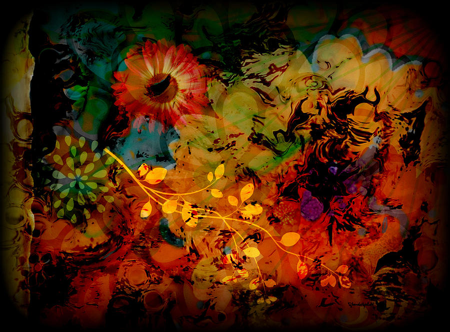 Flowers Mixed Media