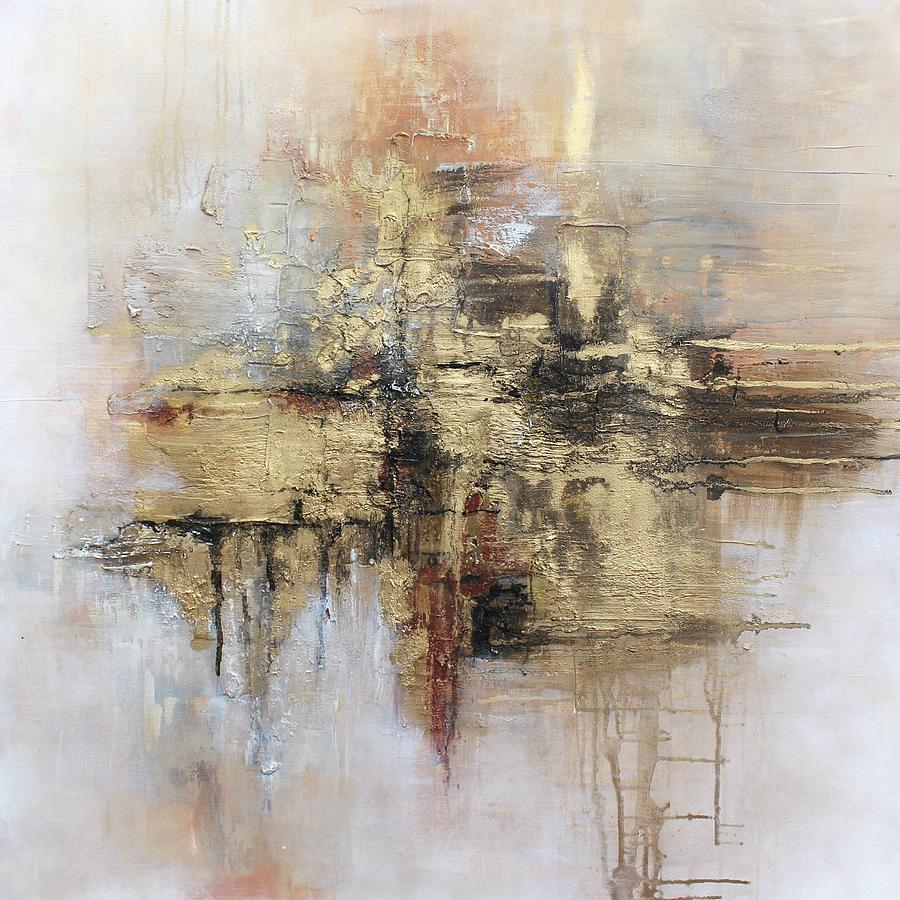 Love Mixed Media - Flowing love by Claudia Gantenbein