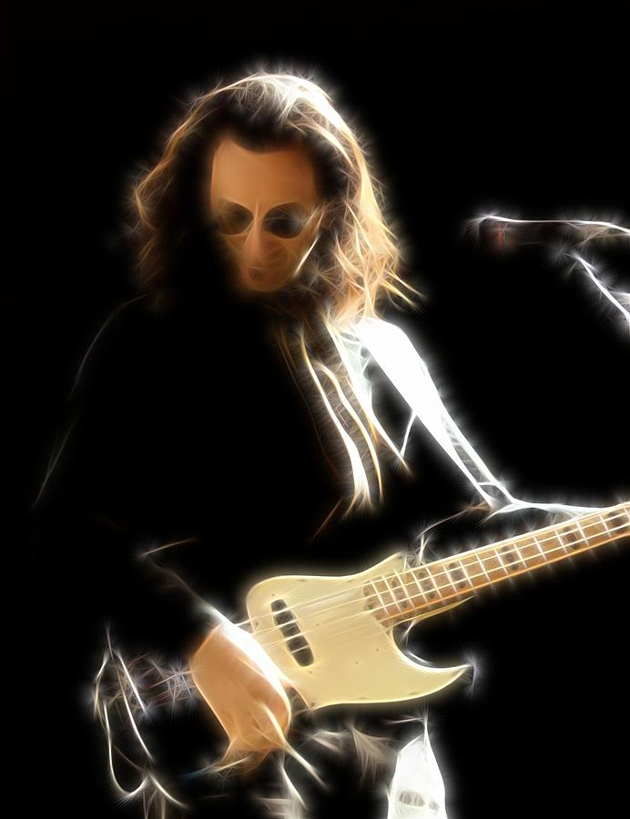 Fly By Night - Geddy Lee by Fred Larucci
