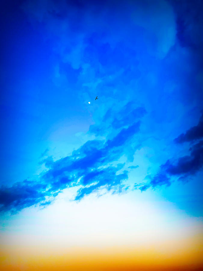 Fly Me To The Moon Photograph
