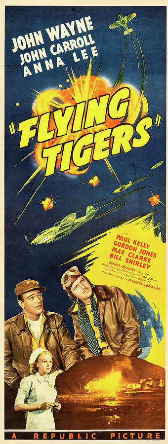 flying Tigers Poster 1942 Mixed Media