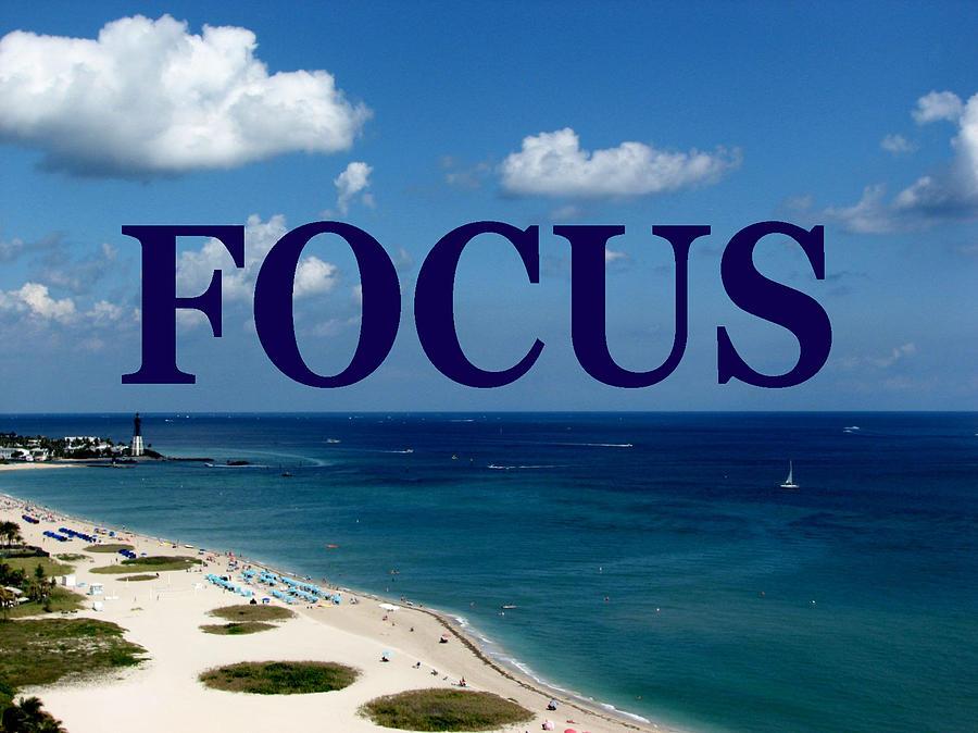 Focus Digital Art - Focus by Corinne Carroll