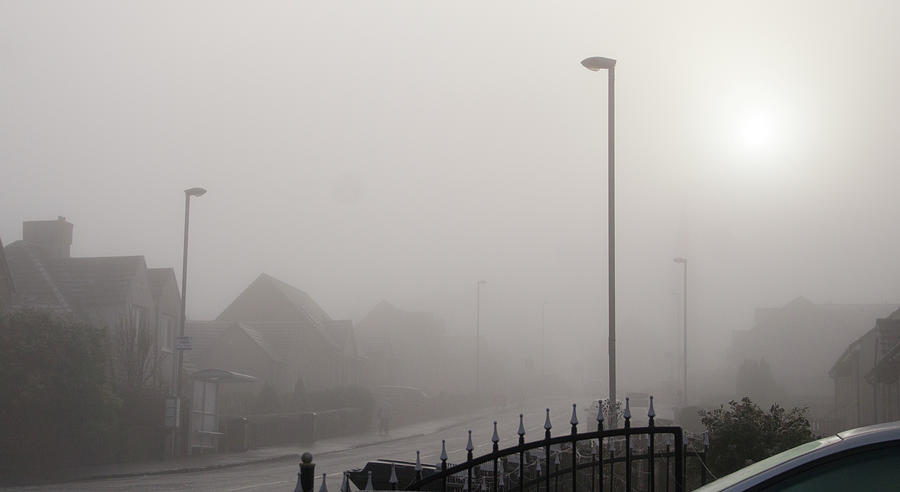 Foggy Afternoon. Photograph