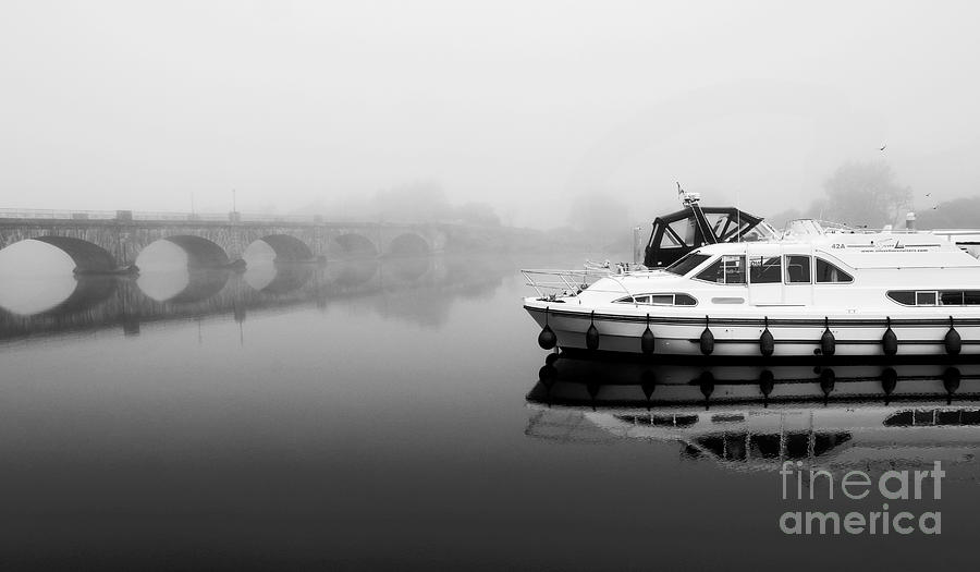 Foggy morning Banagher by Peter Skelton