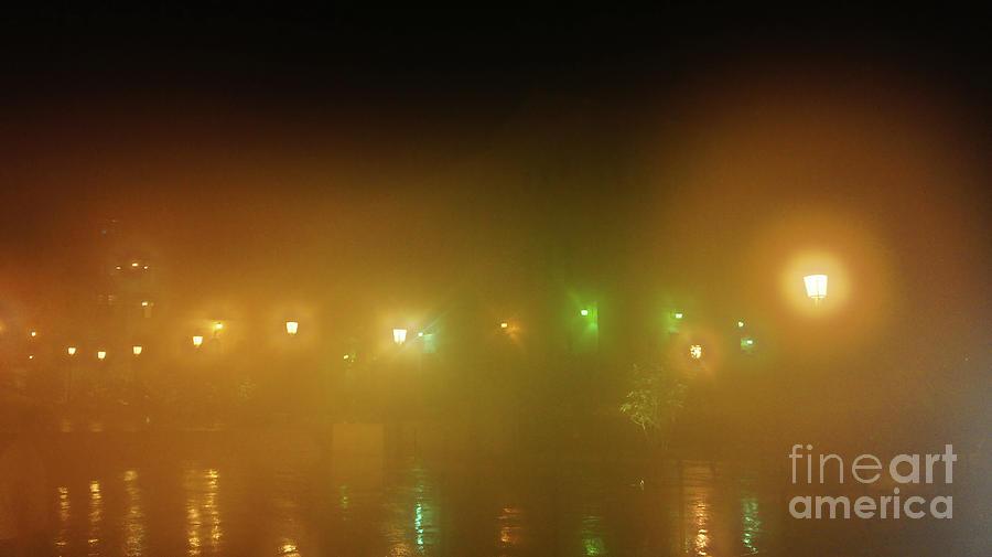Puerto Rico Photograph - Foggy Night In Old San Juan, Puerto Rico by Felix Lai