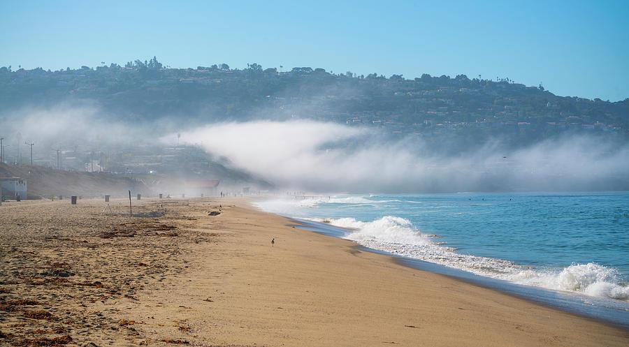 Redondo Photograph - Foggy Redondo Beach by Mike Hope by Michael Hope