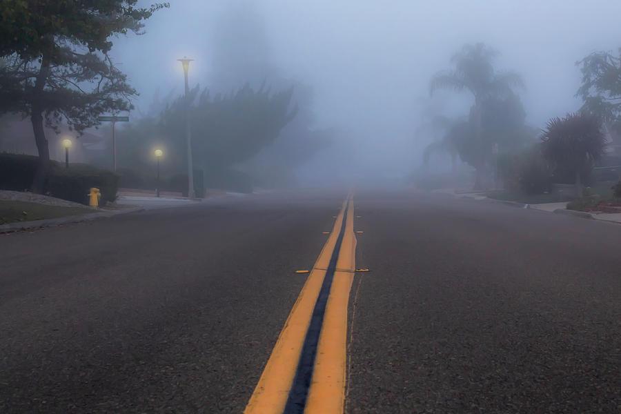 Foggy Street by Alison Frank