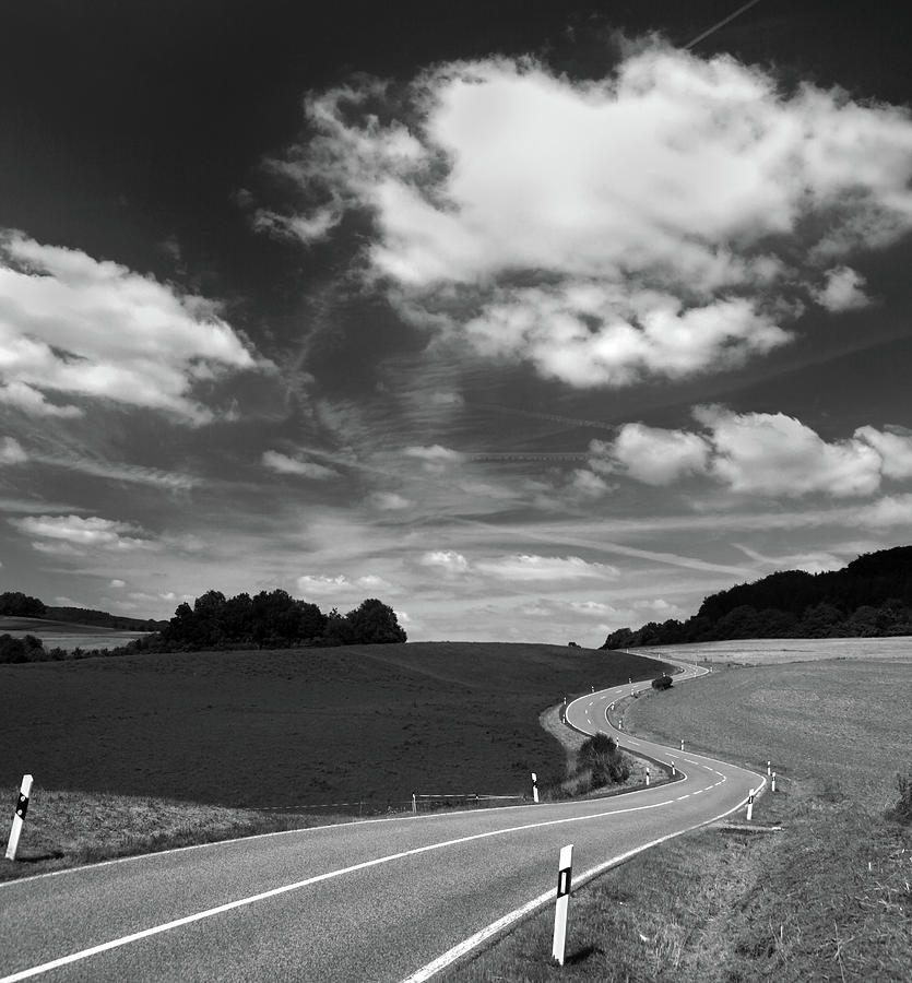 Follow The Road Photograph