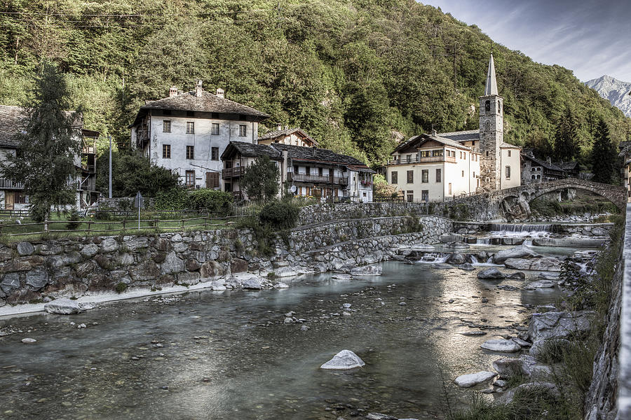 Following the water in the valley Photograph by Adriano Ficarelli
