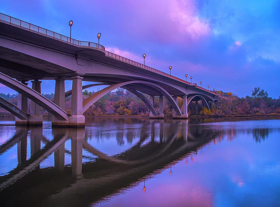 Lake Photograph - Folsom Rainstorm by Jonathan Hansen