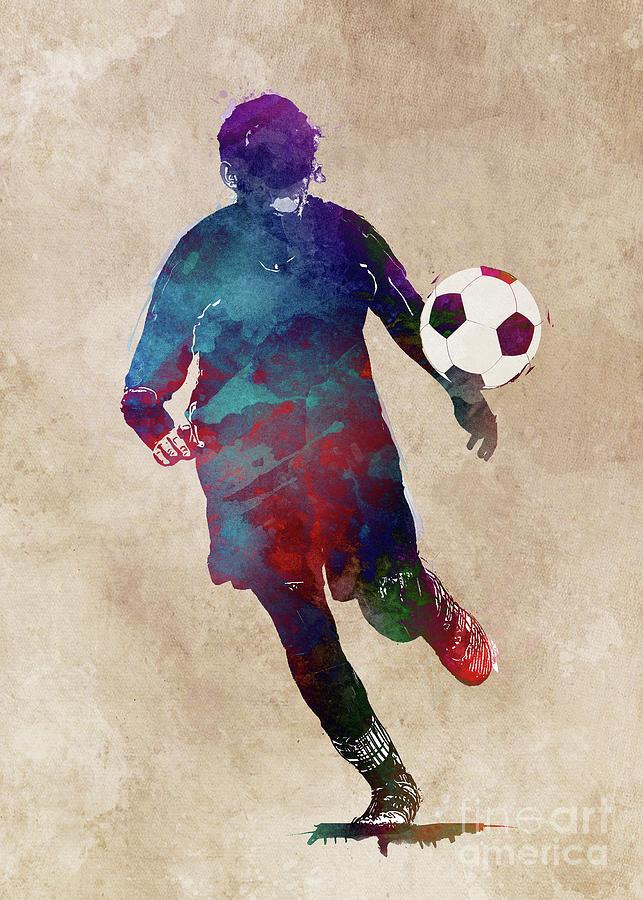 Football Player Sport Art #football Digital Art