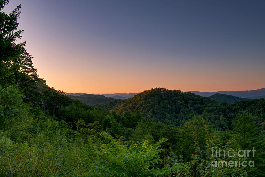 Foothills Parkway Photograph - Foothills Sunrise by Phil Perkins