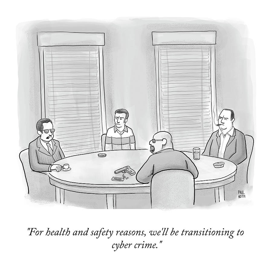 For Health And Safety Reasons Drawing by Paul Noth