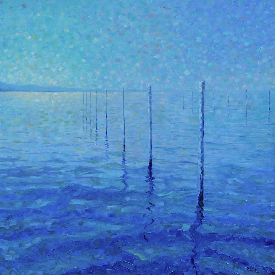 Impressionism Painting - For Love of Oysters by Robert Buntin