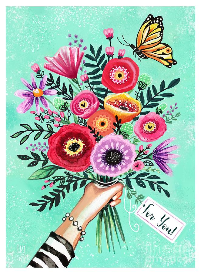 For You Bouquet  by Elizabeth Robinette Tyndall
