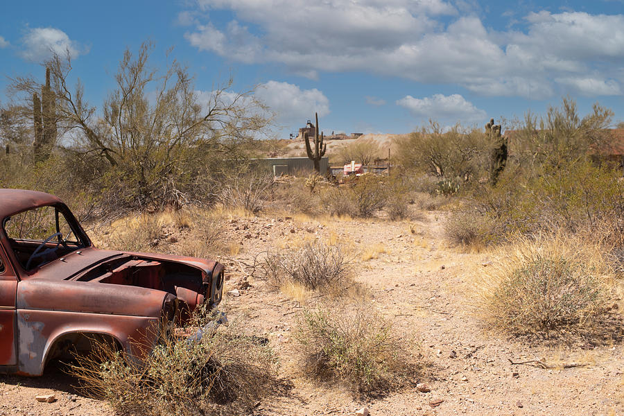 Ford Abandoned Photograph