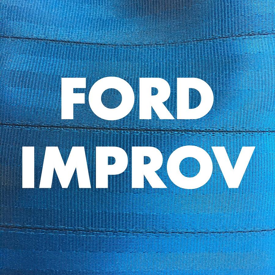 Ford Digital Art - Ford Improv Logo by Heather Lutkin