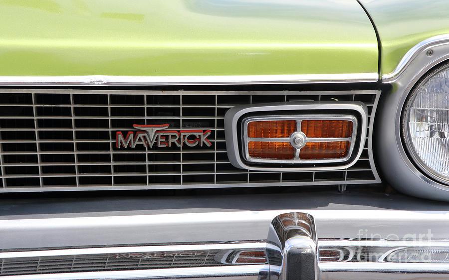 Ford Maverick Emblem 8276 Photograph