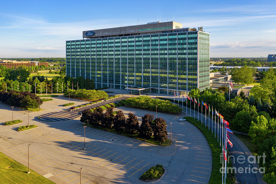 Ford World Headquarters Photograph