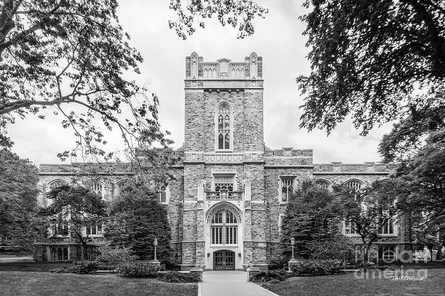Fordham University Duane Library by University Icons