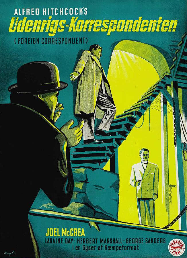 foreign Correspondent - 1940 Mixed Media