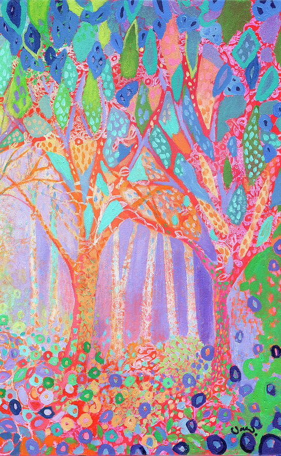 Forest Jewels Part 2 Painting