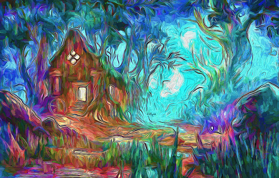 Forest Magic Painting