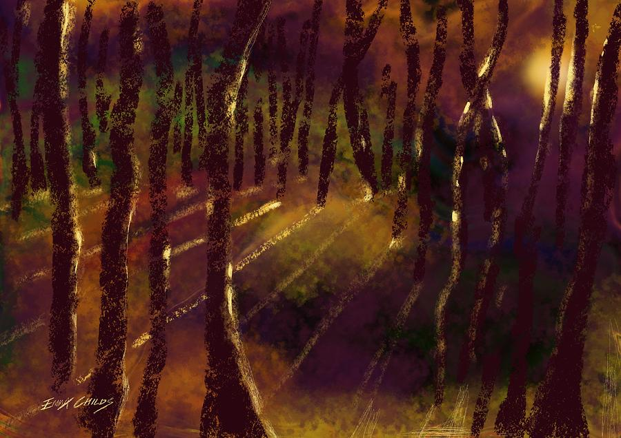 Forest Of Secrets Painting