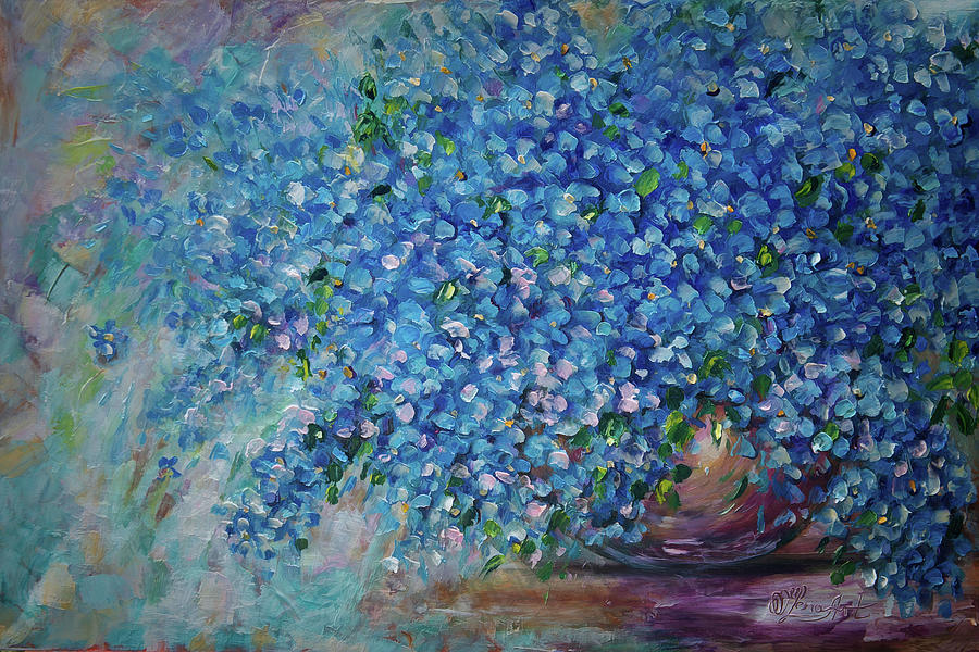 Forget-Me-Not  by OLena Art - Lena Owens
