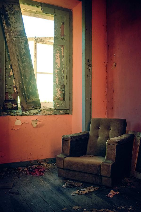 Forgotten Chair by Carlos Caetano