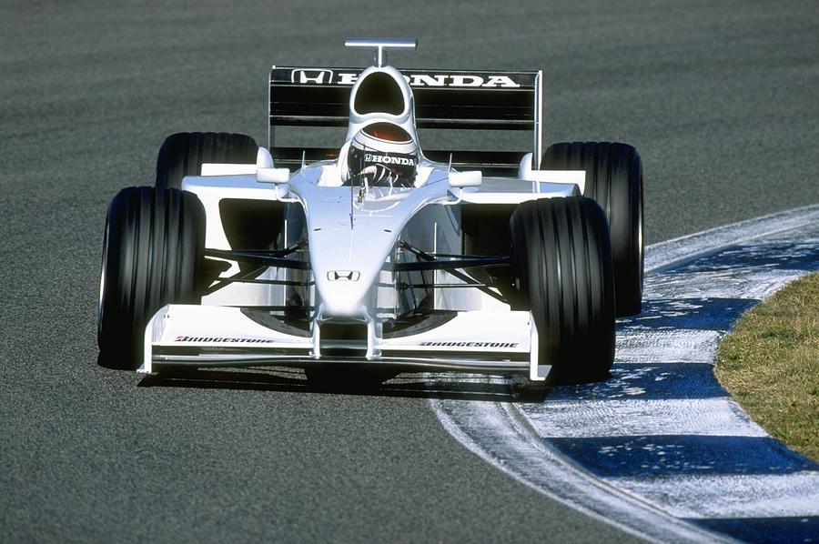 Formula One testing Jos Verstappen Photograph by Mark Thompson