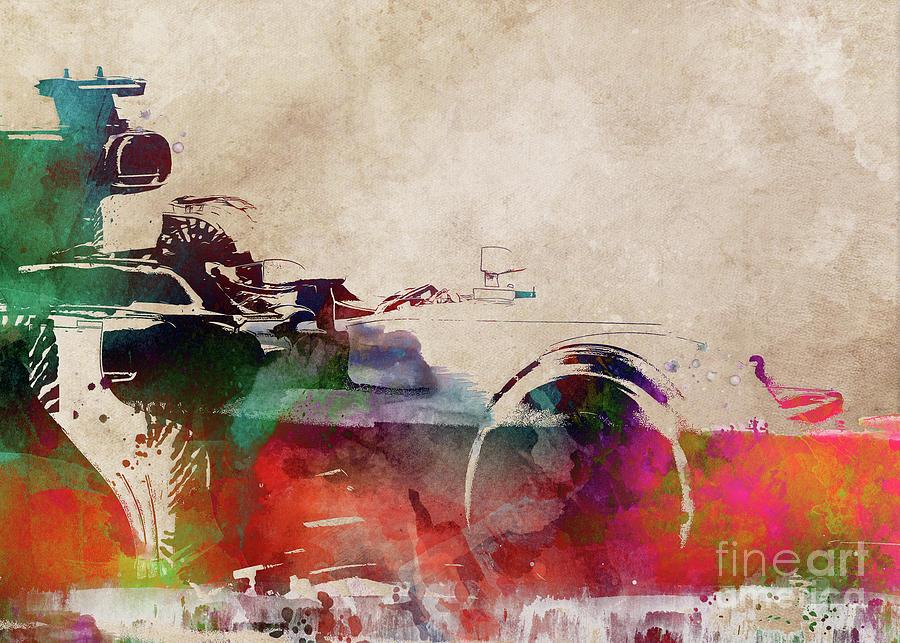 Formula #racing #sport Digital Art