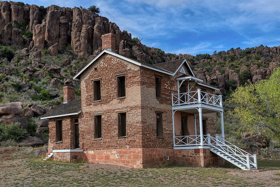 Fort Davis Ruins by Paul Freidlund
