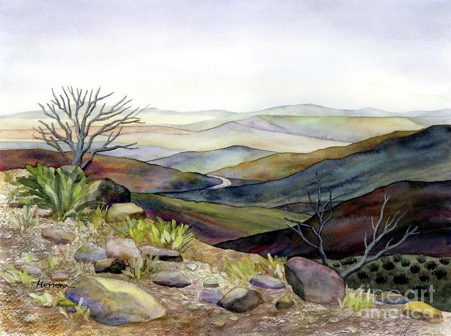 Fort Davis Vista Painting