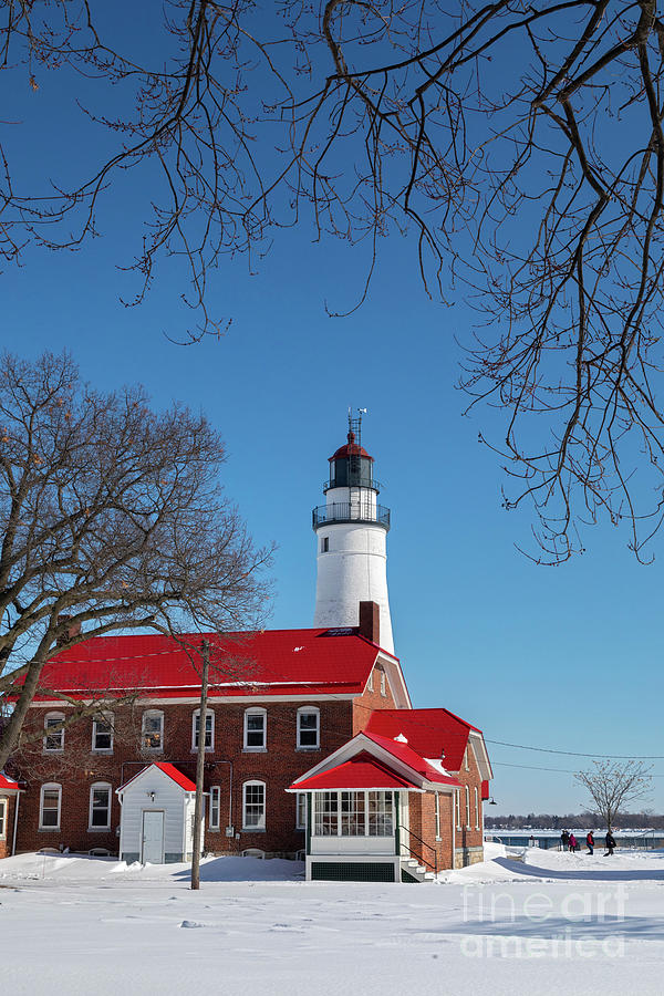 Fort Gratiot Lighthouse Photograph