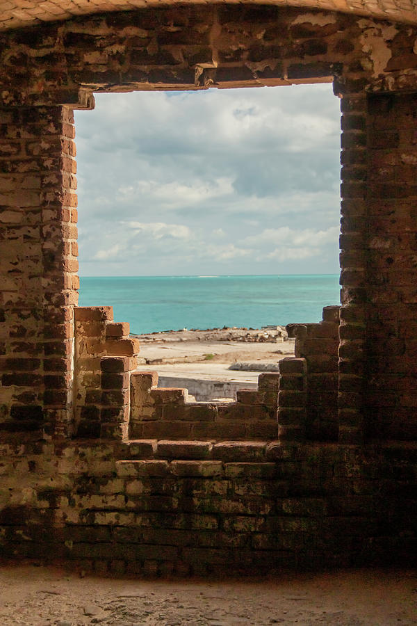 Fort Jefferson Ocean View by Kristia Adams