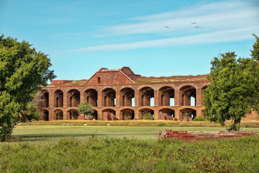 Fort Jefferson Ruins by Kristia Adams