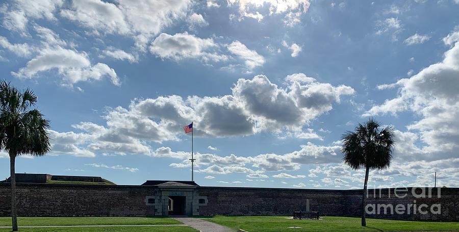 Fort Moultrie - Sullivans Island South Carolina Photograph