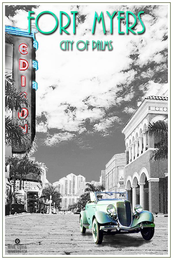 Fort Myers Digital Art - Fort Myers by Jason Neptune