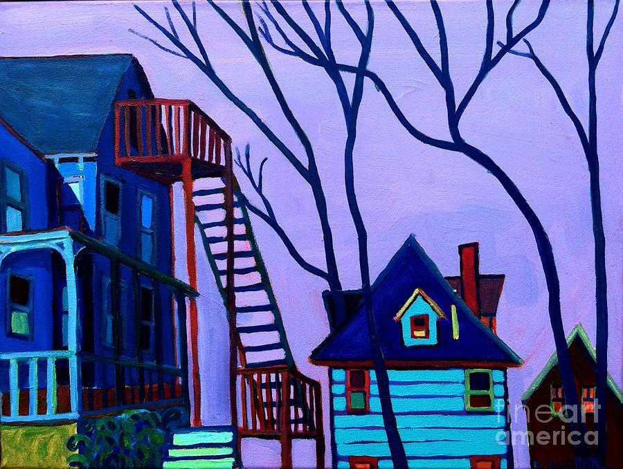 Landscape Painting - Foster Street by Debra Bretton Robinson