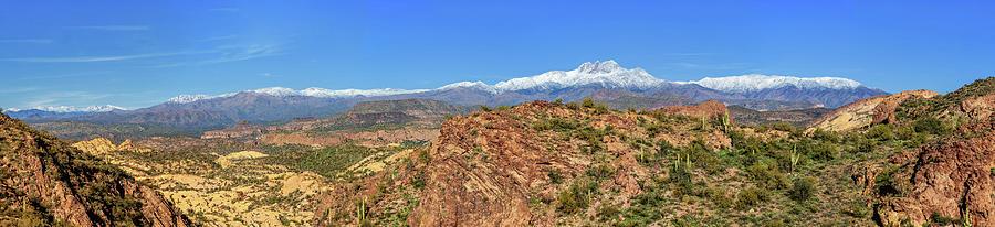 Four Peaks Pano by Rick Furmanek