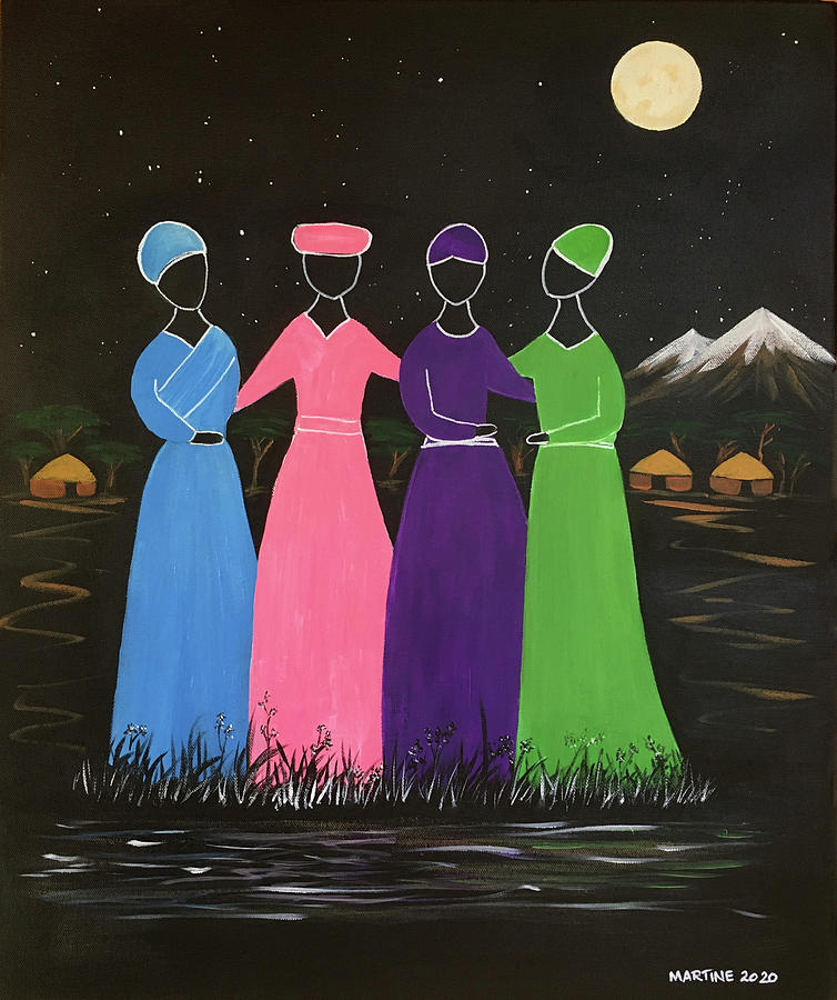 Four Sisters Painting