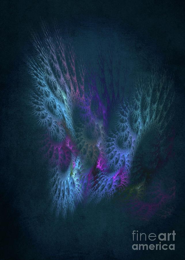 Fractal Art Angel #fractal Digital Art