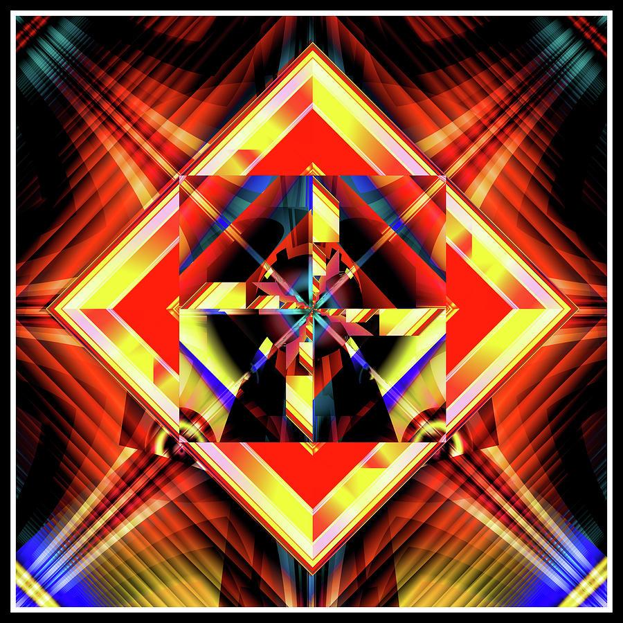 Fractal Glow Digital Art