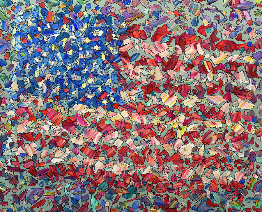 Fragmenting Flag by James W Johnson