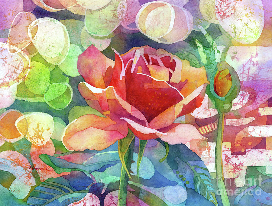 Fragrant Roses-pastel Colors Painting